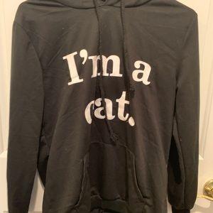 I'M A CAT SWEATSHIRT
